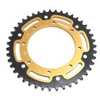 Gold Stealth Rear Sprocket - RST-487-43-GLD