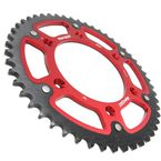 Red Stealth Rear Sprocket For Beta - RST-8000-50-RED