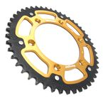 Gold Stealth Rear Sprocket - RST-808-47-GLD