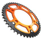 Orange Stealth Rear Sprocket - RST-990-49-ORG