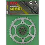 530XSO Chain and Sprocket Kit - 2067-930W