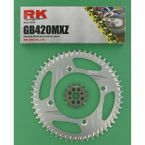 GB420MXZ Chain and Sprocket Kit - 1002-968ZG