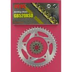 GB520XSO Race Chain and Sprocket Conversion Kit - 3066-018RG