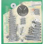 Polished Chrome Steel Socket Head Motor Bolt Kit - P-80-86