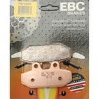 Rear Left Double H Sintered Metal Brake Pads - FA710HH