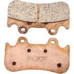 Double H Sintered Metal Brake Pads for Jaybrake Six-Piston Caliper - FA649HH