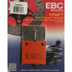 Semi-Sintered V Rear brake Pads - FA696V