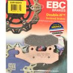 SXR Side By Side Race Fomula HH Sintered Brake Pads - SXR165HH