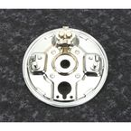 Chrome Rear Hydraulic Backing Plate - 71377