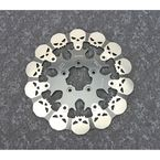 Full Front Skull Floating Brake Rotor - DF680FRH