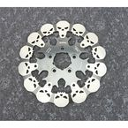 Rear Skull Full Floating Brake Rotor - DF681FRH