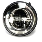 7 in. Chrome 12V 8720 LED Reflector Headlight w/o Mounting Ring - 2001-1790