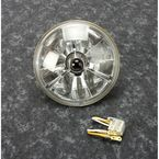 5 3/4 in. Trillient Bullet Cut Headlight w/Black Dot - T50704