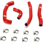Red Race Fit Radiator Hose Kit - MBU-HON-109-RD