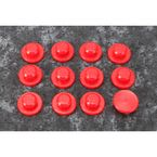 Red Seat Grommets - 70.7010R