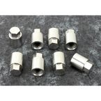 Chrome Cylinder Base Nuts - 93-3063