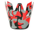 Red Camo Rise Visor Kit - 0132-1335