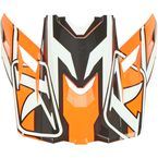 Strike Orange Visor for F3 Stark Helmet - 3866-000-000-020