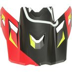 High-Risk Red Visor for F3 Tectonic Helmet - 3866-000-000-022