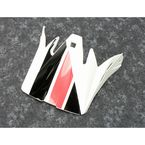 Child White/Black/Red Rise Evac Visor Kit - 0132-1407