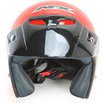 Youth Safety Orange FX-75 Helmet  - 0105-0034