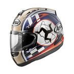 Blue/White/Red Isle of Man Corsair V Helmet - 812663