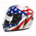 White FX-95 Freedom Helmet - 0101-9663