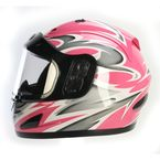 Pink Full Face Helmet - 26-683P-15