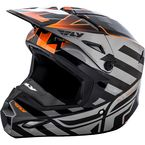 Black/Orange Interlace Elite Cold Weather Helmet - 73-4942-7-L