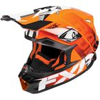 Orange Blade Race Division Helmet - 180605-3000-13