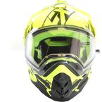 Black/Hi-Vis Torque X Core Helmet w/Electric Shield - 180610-6510-13