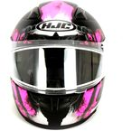Semi-Flat Black/Pink/Gray CL-17SN Arica MC-8SF Snow Helmet w/Dual Lens Shield - 857-784