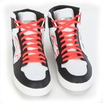 Black/White/Red/Blue Stadium Shoes - 2519115123710
