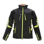 Black/Hi-Vis Yellow Mechanized Insulated Jacket - 3120-1563