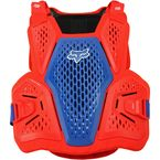 Blue/Red Raceframe Impact CE Deflector - 24865-149-L/XL