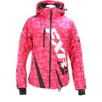 Women's Electric Pink Digi/Black Boost Jacket - 170204-9710-10