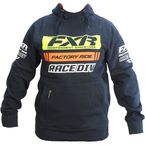 Navy/Orange Race Division Pullover Hoody - 173321-4530-13
