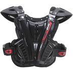 Youth Black Vex Chest Protector - VEX-BK-S-18