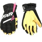Women's Black/Fuchsia CX Short Cuff Gloves - 180813-1090-07