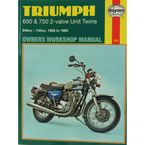 Triumph Motorcycle Repair Manual  - 122