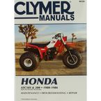 Honda Repair Manual - M326