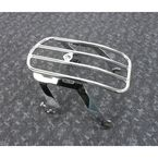 Chrome Detachable Solo Luggage Rack - 602-2511