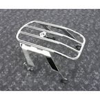 Chrome Detachable Solo Luggage Rack - 602-2514