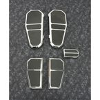 Chrome Tombstone Floorboard Kit - GMA-FB-100CK