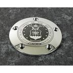 Chrome Air Force Seal Timing Cover - AIRF21-04