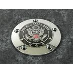 Chrome Army Seal Timing Cover - ARM02-04