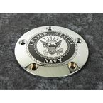 Chrome Navy Timing Cover - NAV15-04