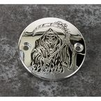 Chrome Grim Reaper Timing Cover - SKUL18-63