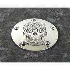Chrome Sugar Skull Timing Cover - SSKUL-04