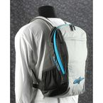 Black/Gray/Blue Lite Backpack - 6107514-1017